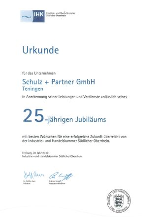 25 years Schulz+Partner